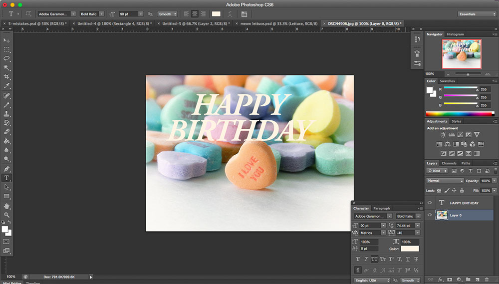 how to add picture into photoshop and move it around